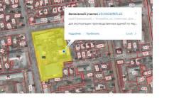 Земельный участок с расположенными на нем строениями. 24 005кв.м., собственность, электричество, вода