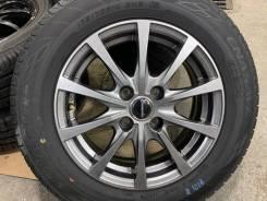 Exceeder R14 4*100 5.5j et38 + 175/70R14 Dunlop Enasave ec204 Japan