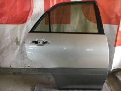 Дверь боковая задняя правая Toyota Harrier MCU10 цвет 1С0