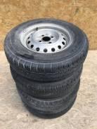 Летние шины Dunlop 165/80R13LT на штамповках, без пробега по РФ!