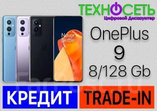 OnePlus 9. Новый, 128 Гб, Черный, 3G, 4G LTE, 5G, Dual-SIM, NFC