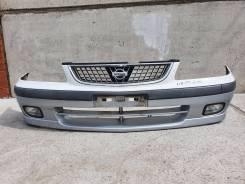 Бампер передний Nissan Sunny fb15 1 модель+Туманки.