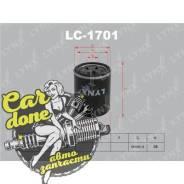 Фильтр масляный Lynxauto LC1701
