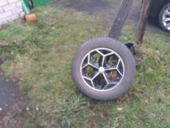 Продам колеса стояли один сезон на шкода октавия тоур. резина виатти.