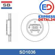 Диск тормозной передний (280х26) 5 отв (4t) Sangsin Brake SD1036 SD1036