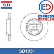 Диск тормозной передний (280х26) 5 отв (4t) Sangsin Brake SD1051 SD1051