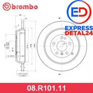 Диск тормозной uv coated зад (6r) Brembo 08. R101.11 08R10111