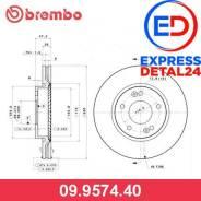 Диск тормозной standard перед (6r) Brembo 09.9574.40 09957440