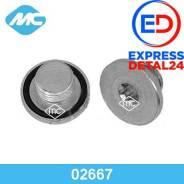 Резьбовая пробка картера двигателя (6r) Metalcaucho 02667