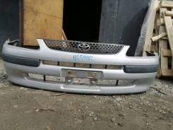 Бампер передний в сборе на Toyota Spacio AE111 до рестайлинг