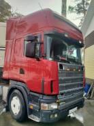 Scania. Продается сцепка 124L и прицеп Schmitz, 12 000куб. см., 4x2