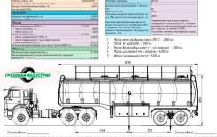 Foxtank. Полуприцеп бензовоз фокстанк 37,5м3 2х осный