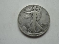 США военные пол-доллара 1941 г. Серебро 900 пробы