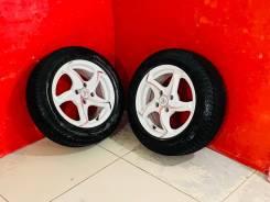 Отличная пара колёс R14 на прицеп. 2 колеса. 4*98.