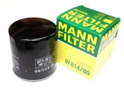 Фильтр масляный двигателя Mann W814/80 в Хабаровске W81480