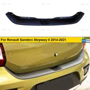 Защита бампера. Renault Sandero Stepway Renault Sandero H4M, K4M, K7M
