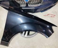 Крыло переднее правое Audi Q7 4L, цвет чёрный (LZ9Y). Без пробега по РФ