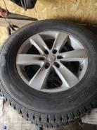 Dunlop. зимние, шипованные, 2012 год, б/у, износ до 5%