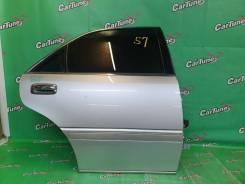 Дверь задняя правая Toyota crown JZS171 [Cartune] АЛУ143