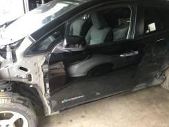 Дверь передняя левая Nissan Leaf AZE0 цвет черный KH3