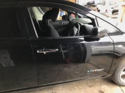 Дверь передняя правая Nissan Leaf AZE0 цвет черный KH3