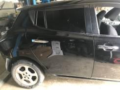 Дверь задняя правая Nissan Leaf AZE0 цвет черный KH3