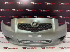Бампер передний Toyota Vitz (XP90) 1 модель 2005-2007 год серебро.