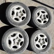 Колеса R14 5/100, диски Toyota оригинал, шины 175/70 на докат