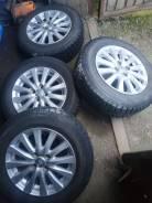 Комплект колес диски Toyota шины Yokohama