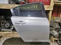 Дверь задняя правая седан Mazda Axela BK5P 69 т. км. Цвет 22v