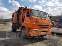 Коммаш КО-440-7. КамАЗ мусоровоз, КО-440-7, боковая загрузка 16 кубов в Хасанском район, 11 762куб. см.