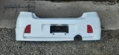 Задний бампер с губой Toyota Vitz RS / Yaris TS NCP91 / ZSP90