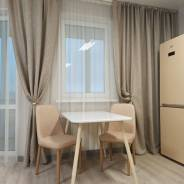 1-комнатная, улица Майора Филипова 16. Снеговая падь, частное лицо, 37,8кв.м. Кухня