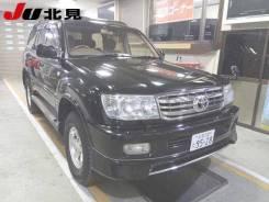 Бампер передний губой и туманками Toyota Land Cruiser100,1998г-2002г