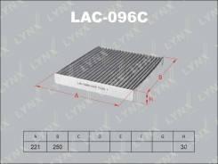 Фильтр салонный угольный LYNXauto LAC096C LAC096C
