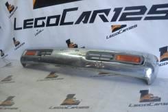 Передний бампер в сборе (ХРОМ) Nissan Terrano LBYD21(LegoCar)