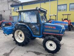 Iseki. Японский трактор с кабиной LandLeader 317 4wd печка гур реверс, 32,00л.с.