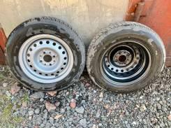 Два колеса в сборе КАМА 165/70R13