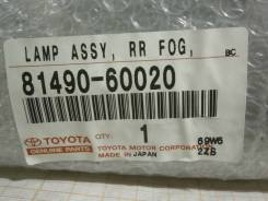 Катафот в бампер Toyota LAND Cruiser, URJ200, 3URFE, 8149060020, 516-0000035, левый задний