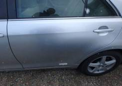 Дверь задняя левая серебро 1D4 Toyota Camry ACV40 2006-2011