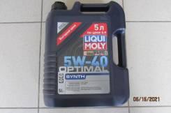 Liqui Moly Optimal. 5W-40, синтетическое, 5,00л.