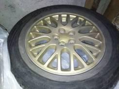 Колёса на Subaru Forester 215/60R16, цвет золото, шины Viatti