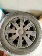 Продам комплект зимних колёс на штамповках с колпаками