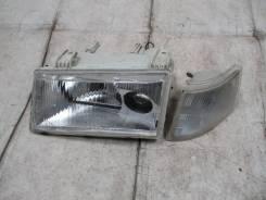 Блок фара передняя левая ваз лада 2110, 2111, 2112 VAZ Lada с линзой