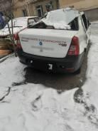 Задний бампер Renault Logan 2012