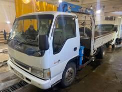 Isuzu Elf. Продам грузовик с манипулятором Isuzu elf, 3 000кг., 4x2