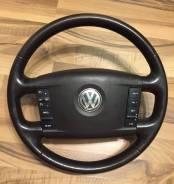 Руль в сборе (коричневый) VW Touareg 2002-2010 3D0419091S2N1