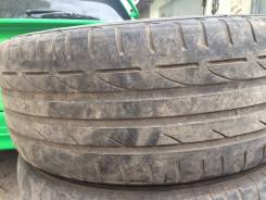 Bridgestone Potenza RE050. летние, 2014 год, б/у, износ 40%
