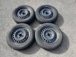 Продам комплект летних колёс 185/60 R15 Bridgestone