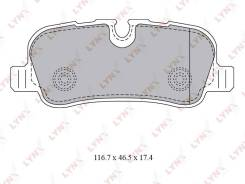 Колодки тормозные дисковые | зад | LYNXauto [BD5009] BD5009